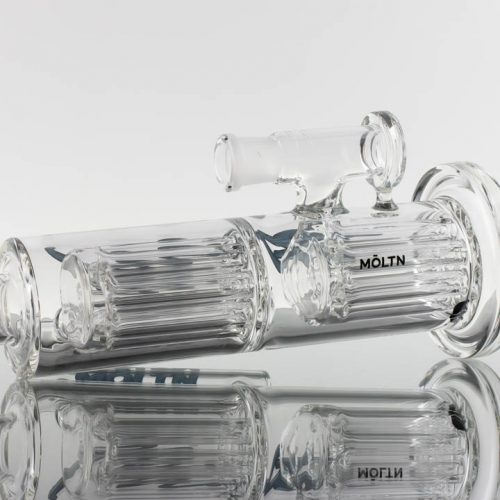 Moltn Glass 65mm Double 8arm Tree - Blue 869499-430- 1