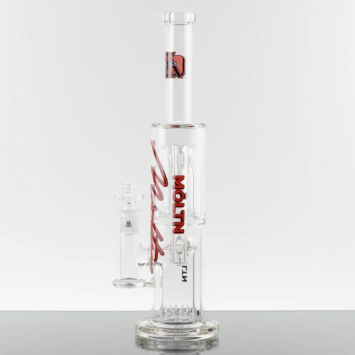 Moltn Glass 65mm Double Can - Red 869503-430- 8
