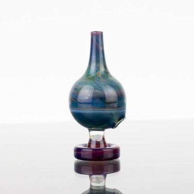 Thomas Sanchez - Bubble Cap - Blues with Amber Purple Base 869974-50-1