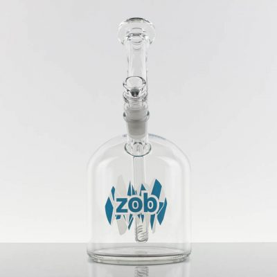 ZOB 110M Bubbler - Blue Frost Shatter 869754-120-1