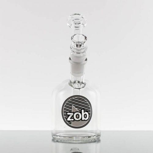 ZOB 75mm Bubbler - Black White Stripes 869761-100-1