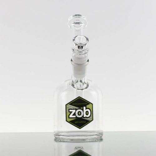 ZOB 75mm Bubbler - Green Black Hexagon 869757-100-1