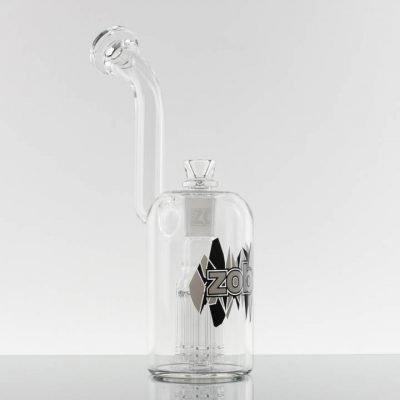 ZOB - Large 8 Arm Bubbler - Black White Triangles 869748-240-1